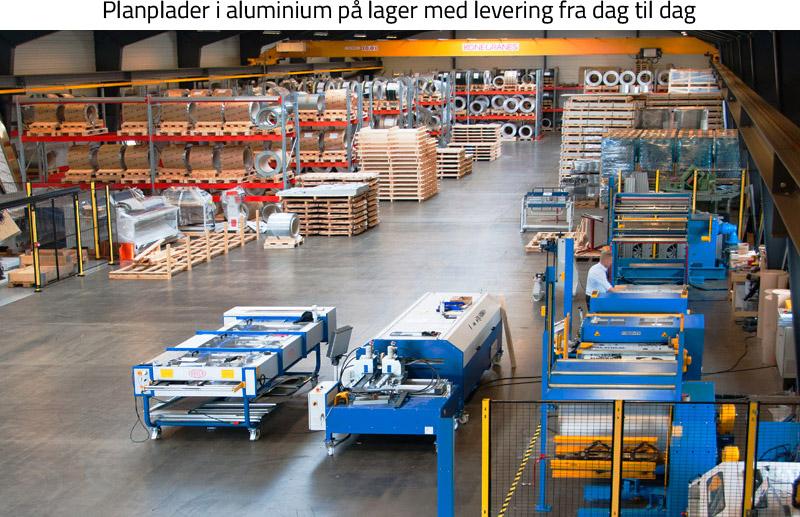 MUNCHOLM-lager • Aluminiumsplader