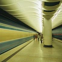 "München, Tyskland • U-Bahnhof ""am Hart"""
