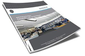 """Brochure """"Trapezplader i stål og aluminium"""""""