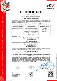 CE-certifikat på SPIDI-befæstelsessystem