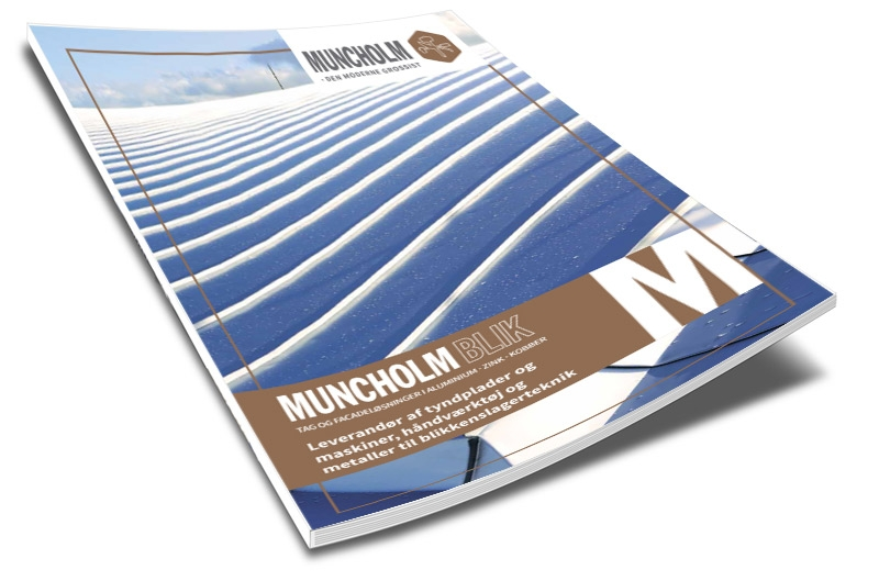 """Brochure """"MUNCHOLM • Blik"""""""