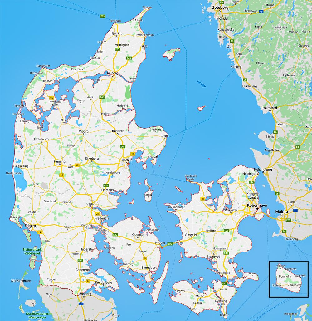 MUNCHOLM-turen i Danmark