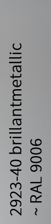 brillantmetallic ~ RAL 9006