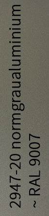 normgraualuminium ~ RAL 9007