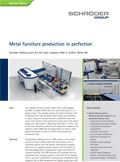 Metal furniture production in perfection